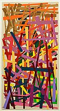 Jon Plapp (1938-2006), Abstract Diptych