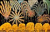Henri Bastin (1896-1979) Fireworks, 1969 oil on