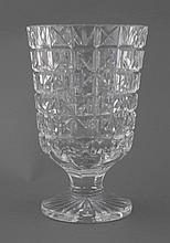 Large Waterford glass crystal trophy