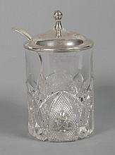 Crystal preserve jar