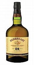 12 year old 40% (orange label) Redbreast whiskey