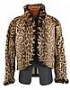 Vintage ocelot fur jacket