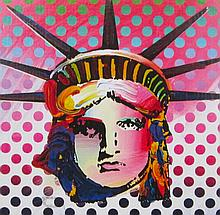 Peter Max - Liberty Head II