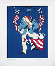 Robert Indiana - Jo the Loiterer (Mother of Us All)