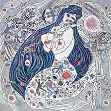 Jiang Tiefeng - White Mermaid