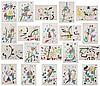 Joan Miro - Maravillas con Variaciones Acrosticas en el Jardin (Complete Portfolio)