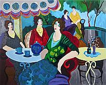 Itzhak Tarkay - Morning Tea