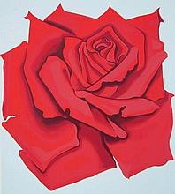Lowell Nesbitt - Red Rose