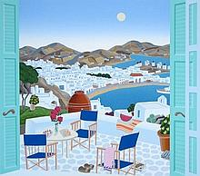 Thomas McKnight - Mykonos Terrace