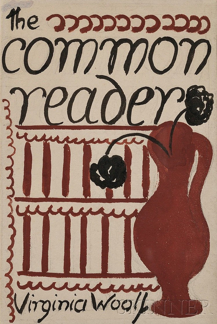 Vanessa Bell (1879-1961), Two original book cover illustrations for works by Virginia Woolf (1882-1941), comprising one for The Comm...