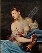 Manner of Peter Paul Rubens (Flemish, 1577-1640), Delilah, Unsigned., Condition: Lined and mounted onto cradled Masonite, retouched, cr