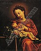 Continental School, 16th/17th Century Style, Madonna and Child, Unsigned, identified as