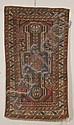 Kuba Rug, Northeast Caucasus, second half 19th century, (small spot of wear, slight end fraying), 5 ft. 4 in. x 3 ft. Provenance: Fr...