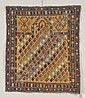 Shirvan Prayer Rug, East Caucasus, second half 19th century, (even wear to center, black oxidation), 4 ft. x 3 ft. 5 in.
