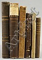 Six 19th Century U.S. Military Related Books, Upton's Infantry Tactics, 1870; Statistical Pocket Manual of the Army, Navy, and Census
