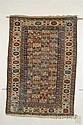Kuba Rug, Northeast Caucasus, second half 19th century, (end fraying, some crudely repiled black oxidation), 5 ft....