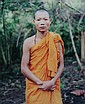 CHAN CHAO. (Burmese, born 1966). YOUNG BUDDHIST MONK, JUNE 1997, color print.