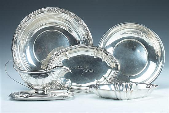 COLLECTION AMERICAN STERLING SILVER HOLLOWWARE. - 31 oz., 2 dwt.