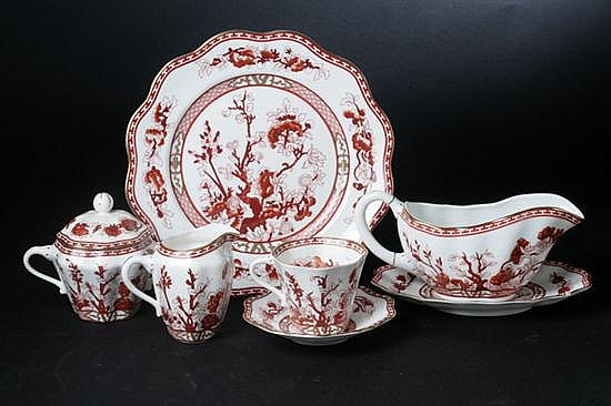 46-PIECE COALPORT BONE CHINA DINNER SERVICE,