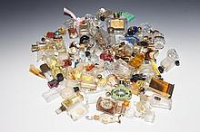 100 MINIATURE GLASS SCENT BOTTLES.