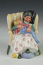 ROYAL DOULTON FIGURE OF SWEET DREAMS, - 5 in. high.