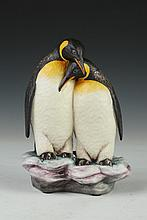 CONNOISSEUR FIGURAL GROUP OF PENGUINS ENTITLED