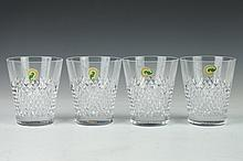 FOUR WATERFORD CRYSTAL