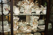 COLLECTION PARIS PORCELAIN, 19th century. - 11 in. high, largest.