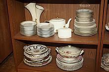 COLLECTION ASSORTED PORCELAIN AND CHINA.