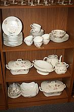 LARGE COLLECTION LIMOGES AND OTHER CONTINENTAL PORCELAIN.