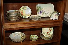 GROUP CONTINENTAL HAND-PAINTED PORCELAIN INCLUDING ROSENTHAL.