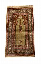PRAYER RUG. - 3 ft. 6 in. x 2 ft.