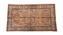 ARTIFICIAL SILK RUG. - 4 ft. 5 in. x 2 ft. 6 in.
