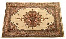 TURKISH RUG, - 6 ft. 3 in. x 4 ft.