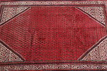 PERSIAN RUG. - 6 ft. 1 in. x 9 ft. 7 in.