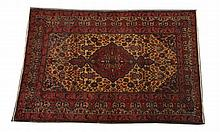 TURKISH RUG. - 6 ft. 6 in. x 4 ft. 5 in.
