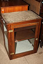 DIMINUTIVE SIDE TABLE DISPLAY CABINET,