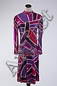 EMILIO PUCCI DRESS, size 12; signed within fabric.