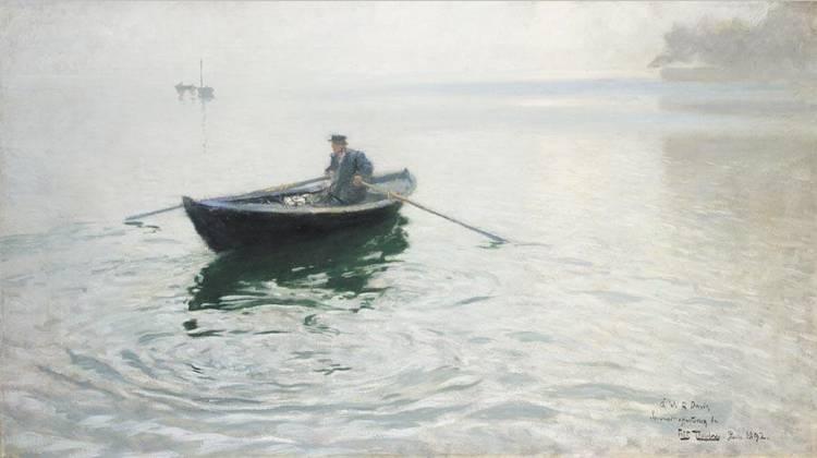 f - FRITS THAULOW NORWEGIAN, 1847-1906