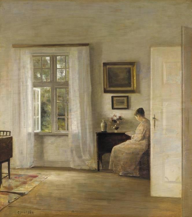 CARL HOLSØE DANISH, 1863-1935