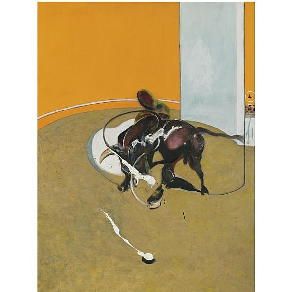l - Francis Bacon , 1909-1992 Second Version of Study for Bullfight No. 1 oil on canvas