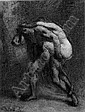 *JEAN-FRANCOIS MILLET (FRENCH, 1814-75) THE ABDUCTION