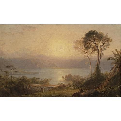 u - Frederic Edwin Church 1826-1900 , Tropical Landscape