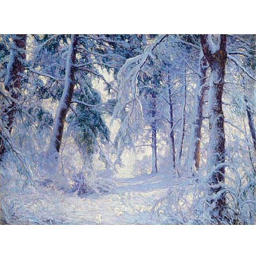 Walter Launt Palmer 1854-1932 , Winter Forest