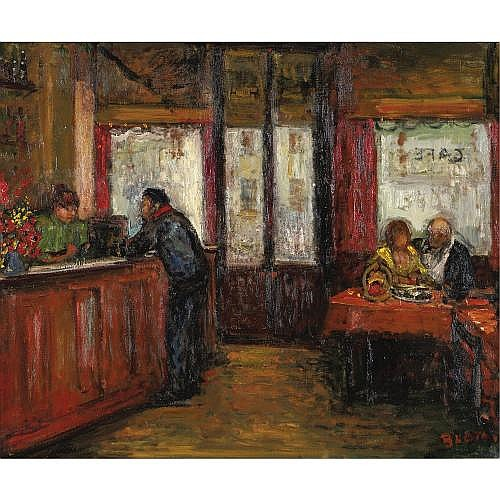 u - Arbit Blatas 1909-1999 , Paris Bistro