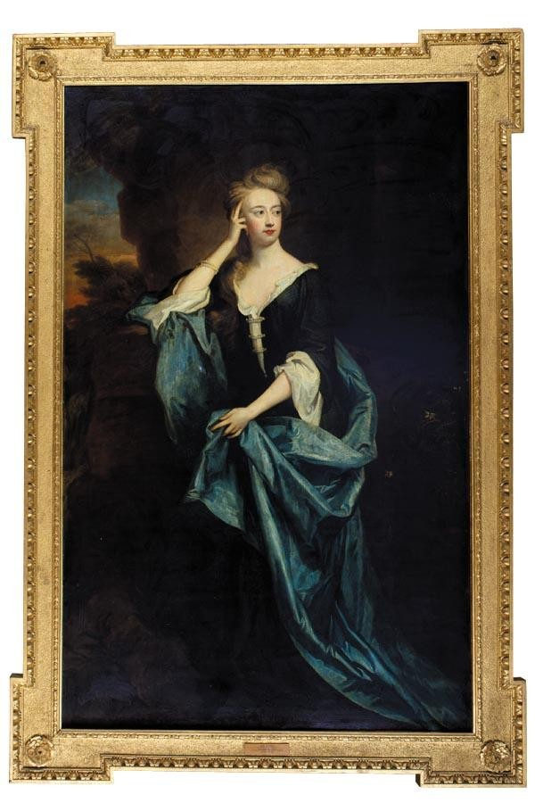 SIR GODFREY KNELLER, BT. 1646 - 1723 PORTRAIT OF ANNABELLA DYVES, LADY HOWARD