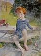 ANNIE LOUISA SWYNNERTON, A.R.A. (1844-1933) PORTRAIT OF GEORGE LEWIS