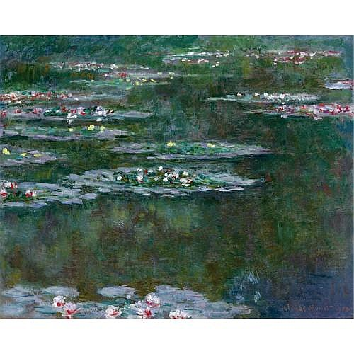 fl - Claude Monet , NYMPHÉAS