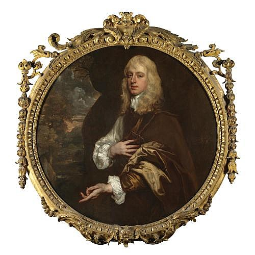Sir Peter Lely 1618-1680 , Portrait of Charles Dormer, 2nd Earl of Carnarvon