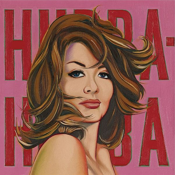 Mel Ramos , b. 1935 Hubba-Hubba oil on canvas